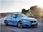 BMW M3 2014 вид сбоку фото 1