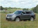 Volkswagen Teramont - Volkswagen Teramont 2018 вид спереди сбоку