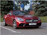 Mercedes-Benz SLC - Mercedes-Benz SLC 2017 вид спереди