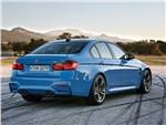 BMW M3 2014 вид сзади фото 1