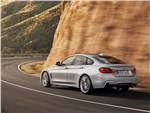 BMW 4 Series Gran Coupe 2014 вид сзади фото 1