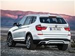 BMW X3 2014 вид сзади фото 1