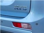 Mitsubishi Outlander PHEV - Mitsubishi Outlander PHEV 2014 вид сзади