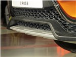 Lada Vesta Cross 2018 решетка радиатора
