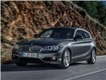 BMW 1-Series 3-doors 2016 вид спереди