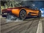 Jaguar C-X75 2016 вид сбоку
