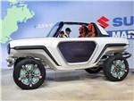 Suzuki e-Survivor concept 2017 вид спереди сбоку