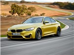 BMW M4 - BMW M4 Coupe 2014 вид спереди фото 2