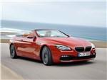 BMW 6 series - BMW 6-Series Convertible 2015 вид спереди