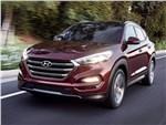 Hyundai Tucson 2016 вид спереди