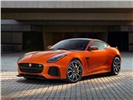 Jaguar F-Type SVR Coupe 2016 вид спереди