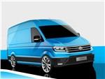 Volkswagen Crafter concept 2016 Своими силами
