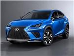 Lexus NX - Lexus NX 2018 вид спереди