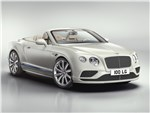 Bentley Continental GT Convertible Galene Edition 2017 вид спереди