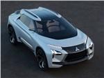 Mitsubishi e-Evolution Concept 2017 вид спереди сверху