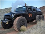 STEAM-POWERED JEEP JK 6×6 'LOCO HAUK'