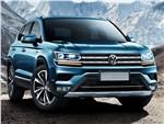 Volkswagen Tarek - Volkswagen Tarek 2020 вид спереди