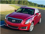 Cadillac ATS 2012 вид спереди