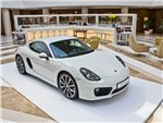 Porsche Cayman S - Porsche Cayman S 2013 вид спереди