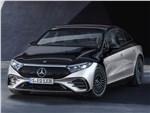 Mercedes-Benz EQS - Mercedes-Benz EQS (2022) вид спереди