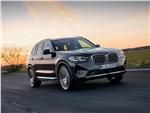 BMW X3 - BMW X3 (2022) вид спереди
