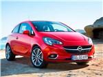 Opel Corsa 2015 вид спереди