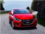 Mazda 2 2015 вид спереди