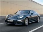 Porsche Panamera S E-Hybrid - Porsche Panamera S E-Hybrid 2013 вид спереди