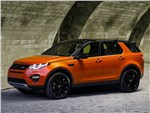 Land Rover Discovery Sport - Land Rover Discovery Sport 2015 вид спереди сбоку