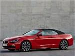 BMW 6 series - BMW 6-Series Convertible 2015 вид спереди сбоку