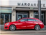 Mercedes-Benz CLA Shooting Brake - Mercedes-Benz CLA Shooting Brake 2016 вид сбоку