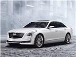 Cadillac CT6 - Cadillac CT6 2016 вид спереди