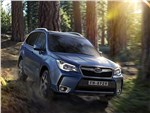 Subaru Forester 2015 вид спереди