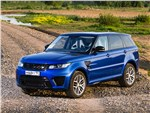 Land Rover Range Rover Sport - Land Rover Range Rover Sport SVR 2015 вид спереди