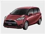 Toyota Sienta 2015 вид спереди