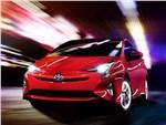 Toyota Prius 2016 вид спереди