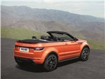Land Rover Range Rover Evoque Convertible 2016 вид сзади