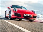 Porsche 911 Carrera S 2016 вид спереди