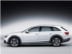 Audi A4 allroad quattro 2016 вид сбоку