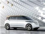 Volkswagen Budd-e Concept 2016 вид спереди сбоку