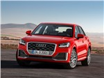 Audi Q2 2017 вид спереди