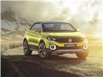 Volkswagen T-Cross Breeze Concept 2016 вид спереди