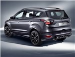 Ford Kuga 2017 вид сзади сбоку