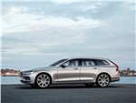 Volvo V90 - Volvo V90 Estate 2017 вид сбоку