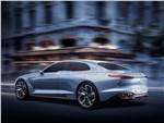 Hyundai Genesis New York Concept 2016 вид сзади сбоку