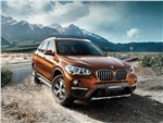 BMW X1 - BMW X1 Long Wheelbase 2017 вид спереди