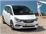 Opel Zafira - Opel Zafira 2017 вид спереди