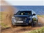 Hyundai Grand Santa Fe - Hyundai Grand Santa Fe 2016 вид спереди