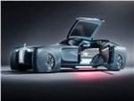 Rolls-Royce Vision Next 100 concept 2016 вид спереди сбоку