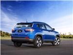 Jeep Compass 2017 вид сзади